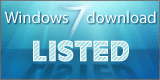Windows 7 Download Listed